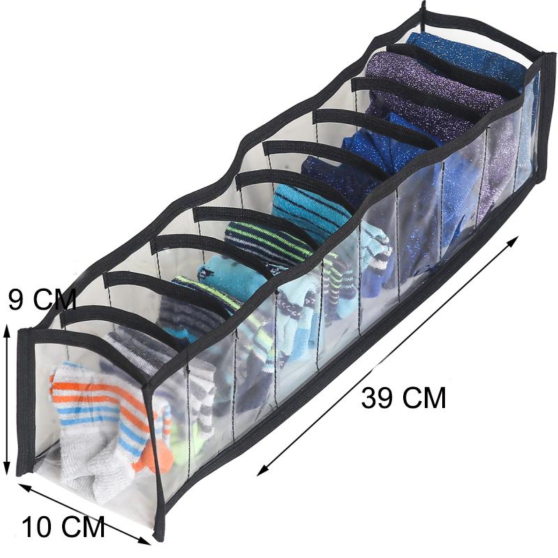 Прозрачный органайзер для носков