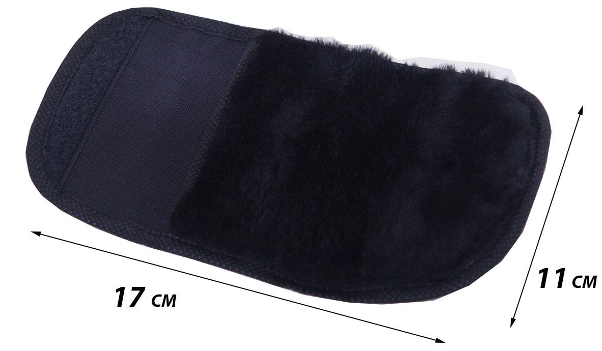 складна полірувальна рукавиця для взуття